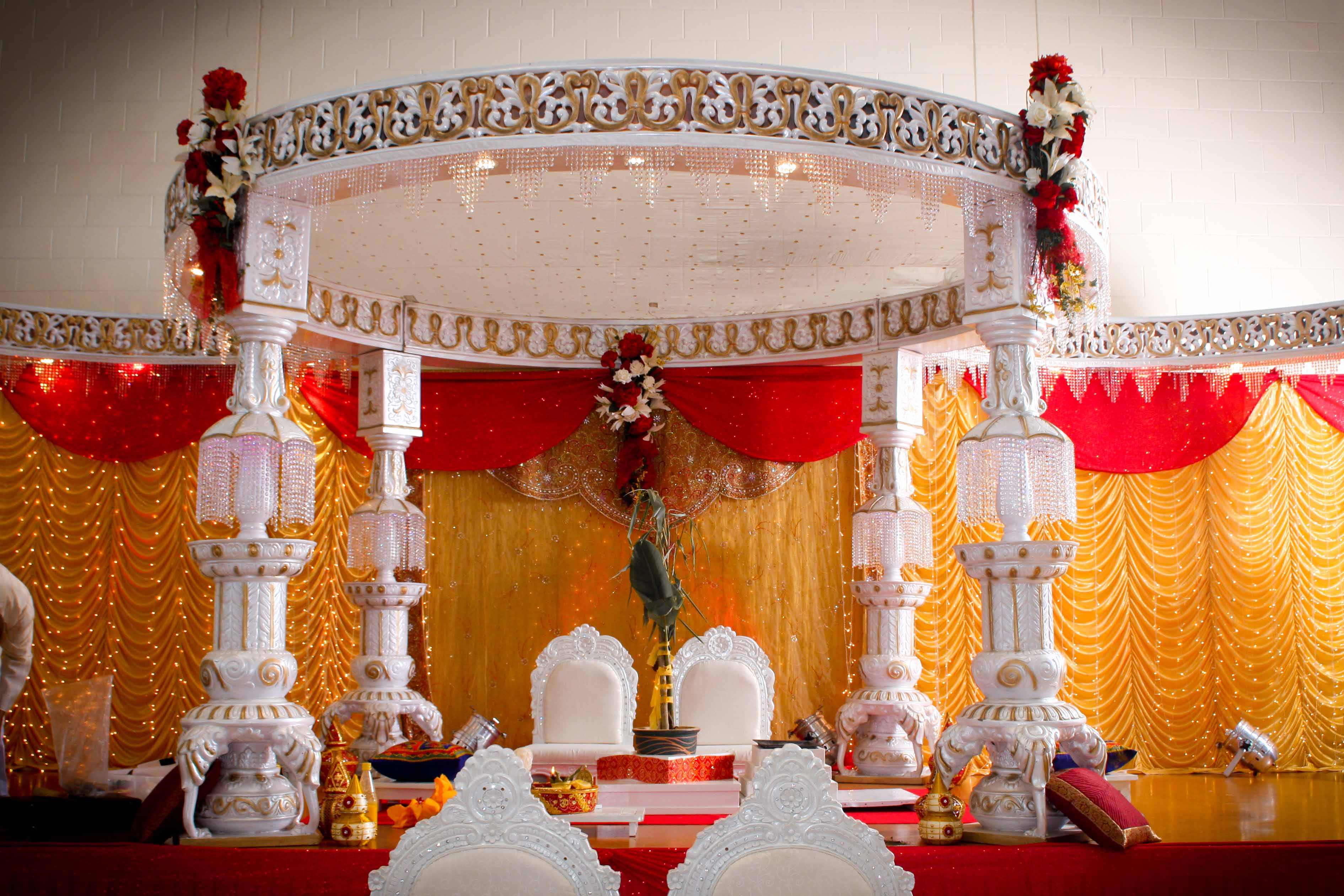 INDIAN WEDDING MANDAP, PHOTOGRAPHY, VIDEO, DJ & SOUNDS | Indian